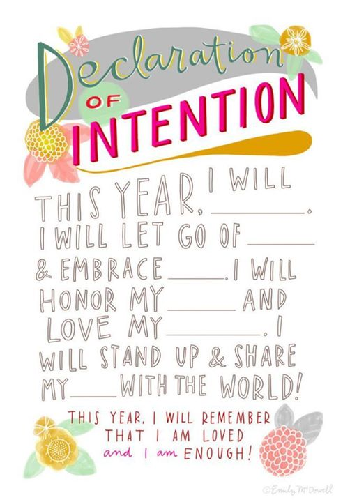 It's a new decade. What are your intentions for the year ahead? A fresh start often means refocusing on our own health and happiness!_0